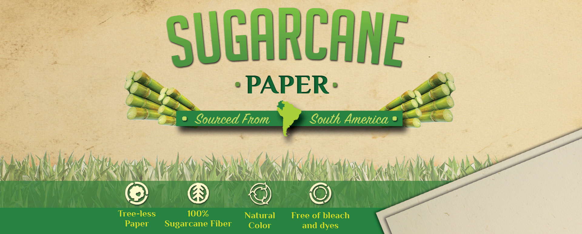 sugar cane paper proposal We will help save our planet paper water bottle - the first of its kind in the world, represents a new, innovative, and truly eco-friendly way of thinking.